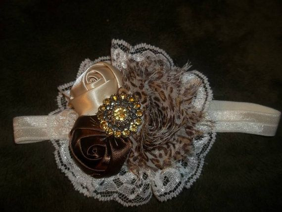 NEW Vintage inspired Leopard Print Headband by DebraMarlow on Etsy, $8.99