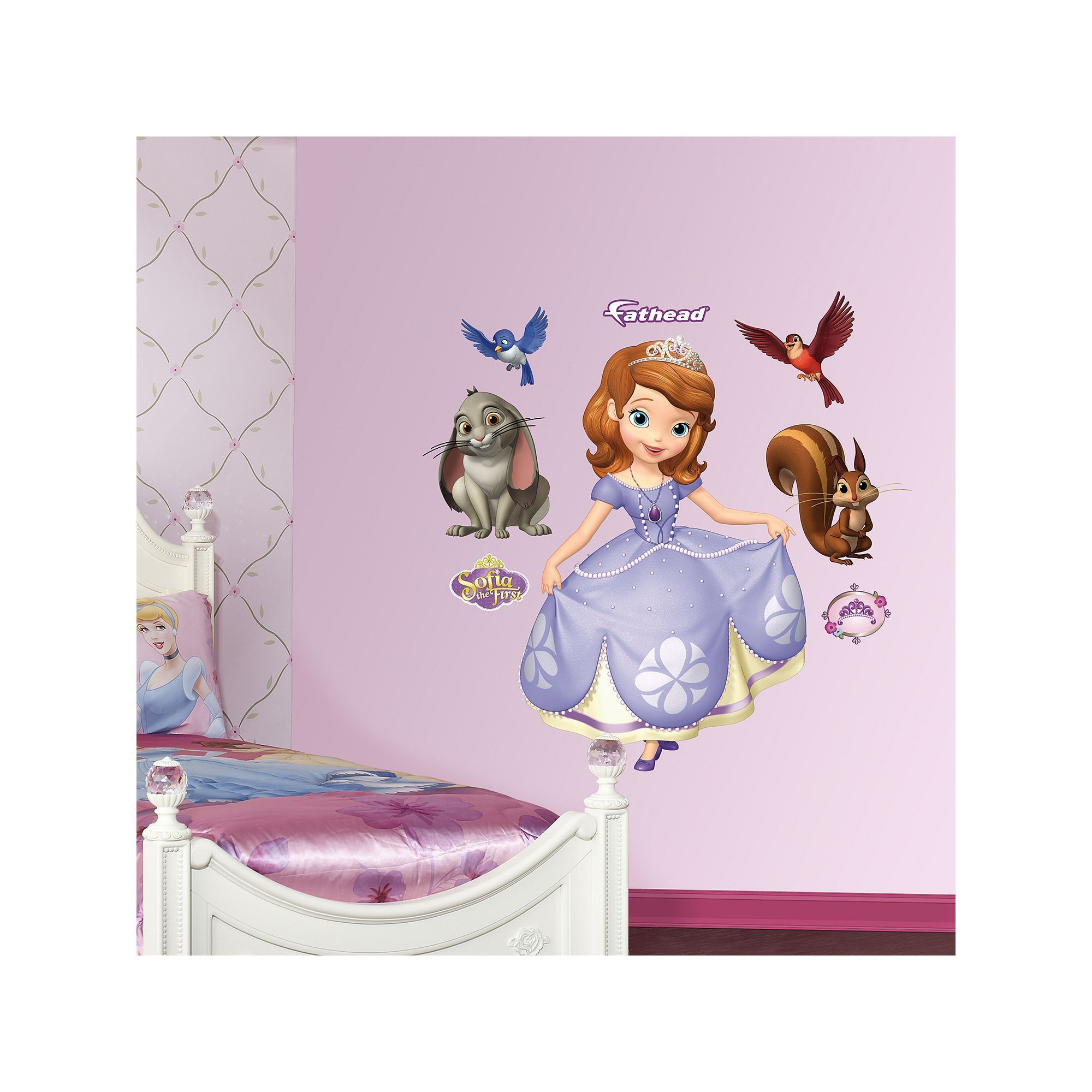Disney Sofia the First Wall Decals by Fathead  Multicolor. Disney Sofia the First Wall Decals by Fathead  Multicolor   Wall