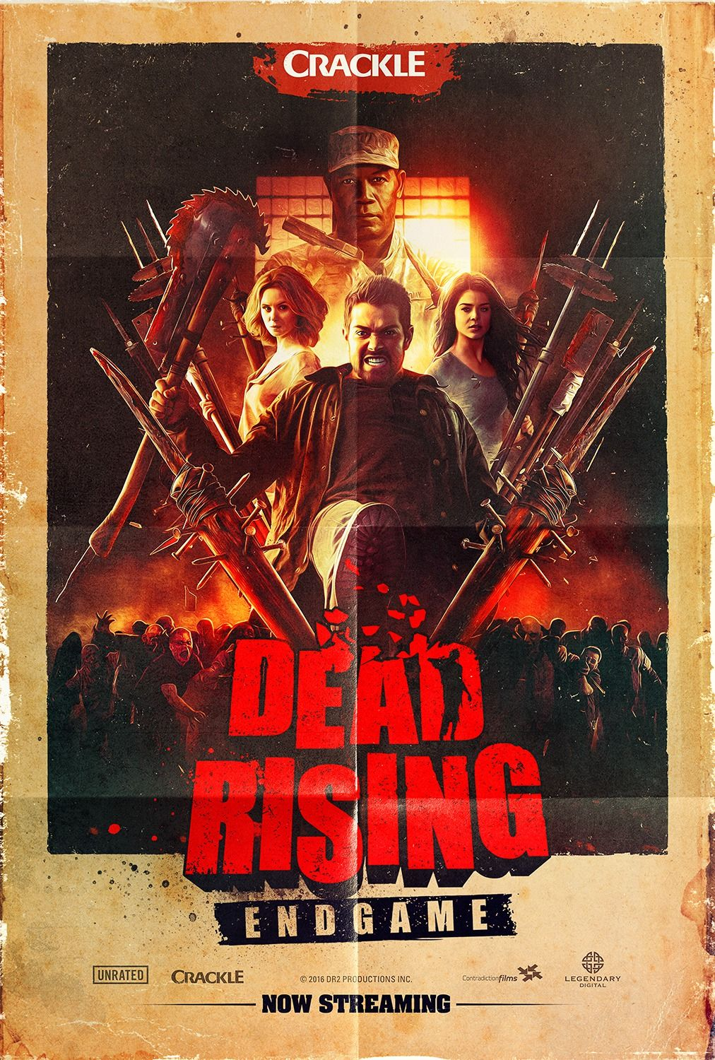 Dead Rising Endgame 4 Of 5 Dead Rising Movie Posters 2016