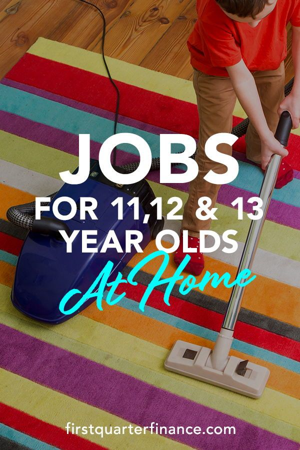 Jobs for 11-, 12-, & 13-Year-Olds: Summer and After School Options Listed
