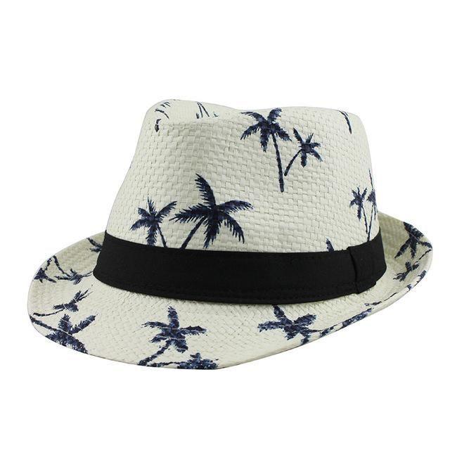 6c4be05f17f Casual Panama Sun Hat- Straw Men s Beach Summer Hat  BeachHatsForWomen