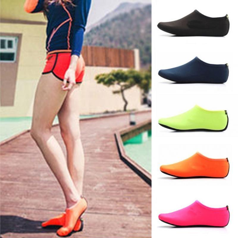 Uomini Donne Quick Dry Skin Skin Shoes Diving Snorkeling Swim Yoga Socks