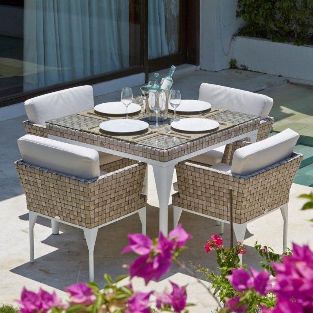 Tavolo quadrato 100x100, Brafta collection, Skyline Design