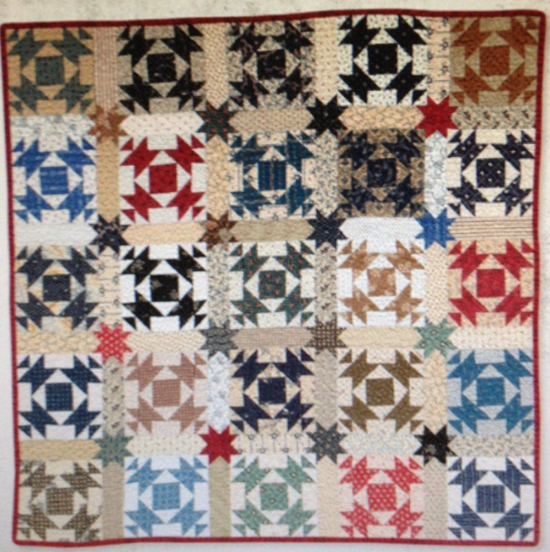 The Blue & the Gray Small Quilts Club