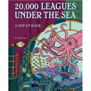 20 000 Leagues Under The Sea A Pop Up Book By Sam Ita Pop Up Book Leagues Under The Sea Under The Sea