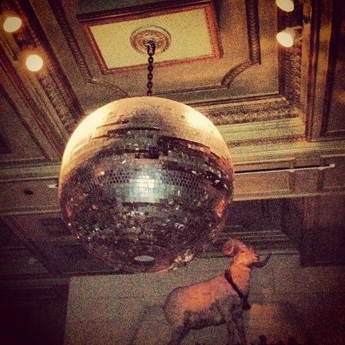 Disco Ball Action Janehotel Nyc Hotcarl Taken With Instagram - Disco lights for bedroom