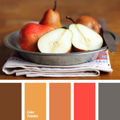 marrón y gris