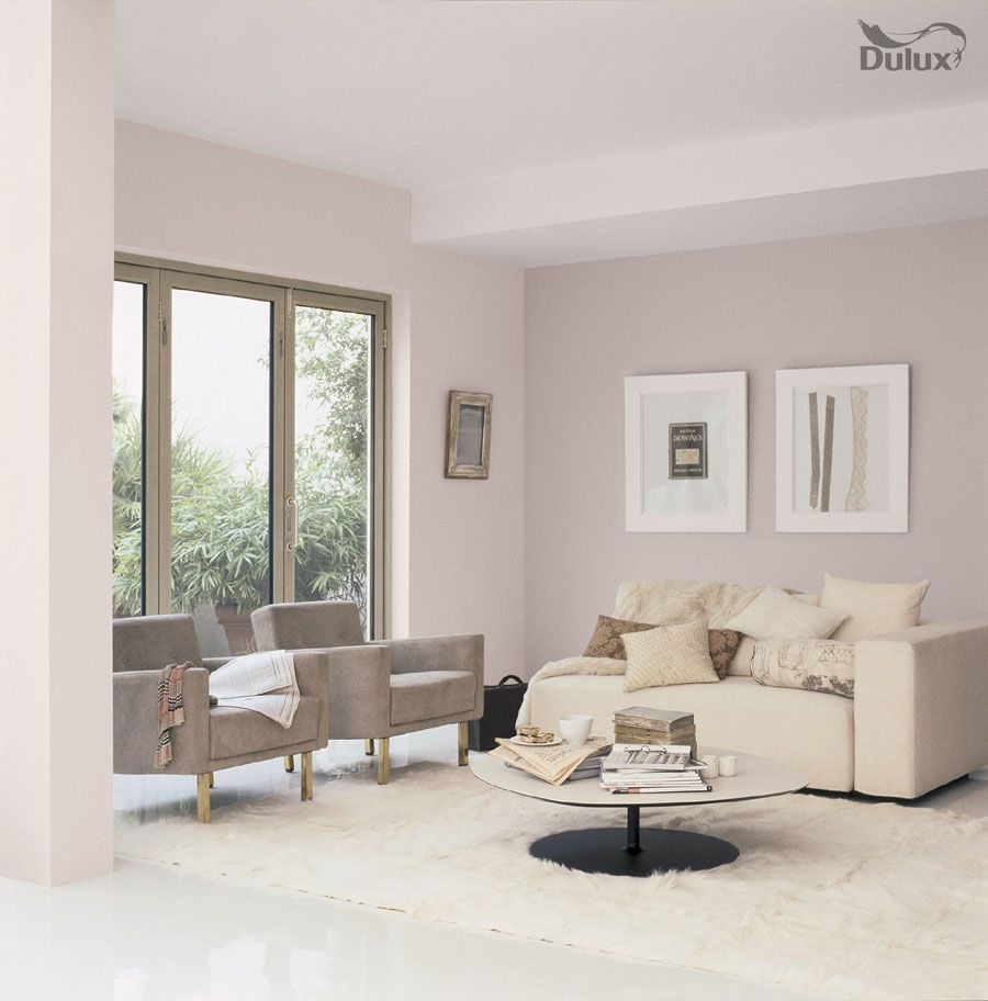 Ramsdens Home Interiors | Living Room Perfectly Taupe Mellow Mocha Dulux Emulsion Colours For