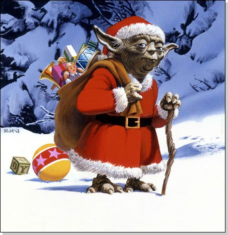 Starwars com checklist 30 years of star wars holiday cards from lucasfilm