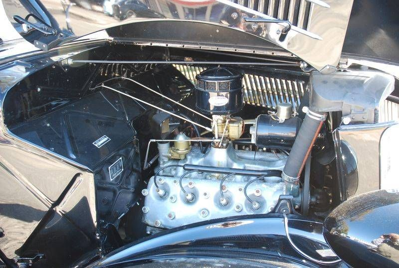 1936 Ford Convertible Deluxe with '34 Flathead V8 Engine