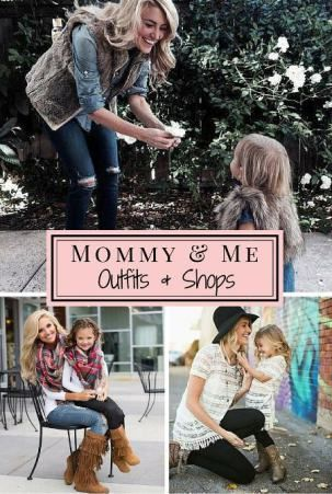 f57b70835aa Mommy and Me outfit Ideas that you can create yourself and shops that sell Mother  Daughter outfits!
