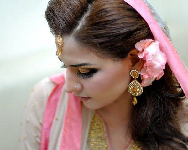 Hair+style | ... Bridal Hairstyle 2013 And The Stylish Look Of Makeup