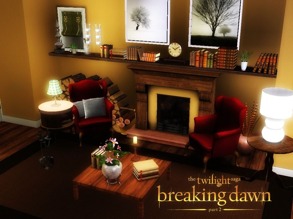 Bella and edward cullen at their cottage bd part 2 bella for Edward cullen house