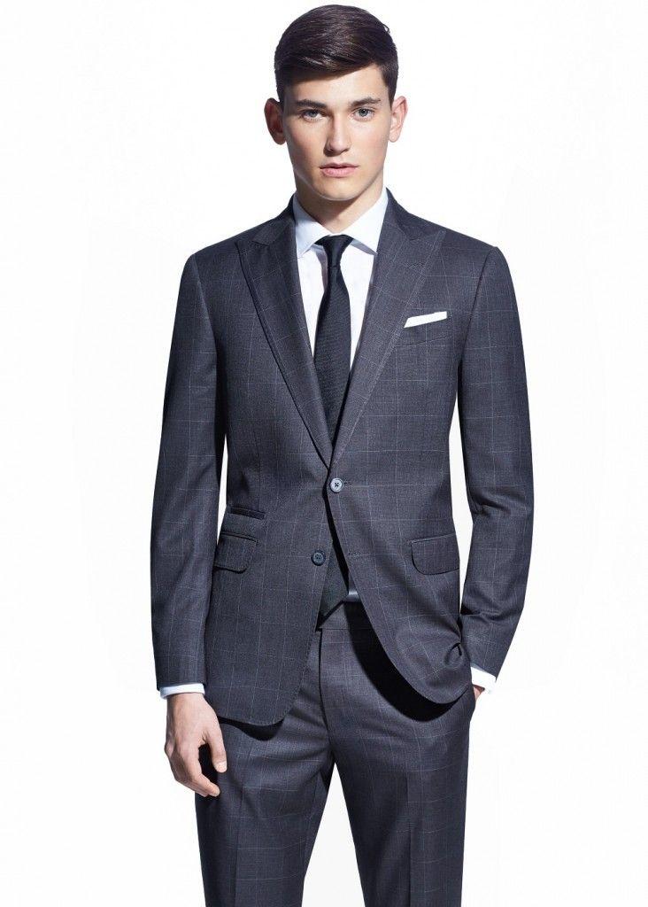 60c6b1aa146ef kareli erkek blazer modelleri 2015   All About Men   Pantolon