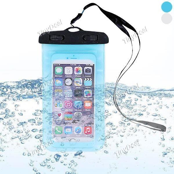 Transparent Underwater Waterproof Case Bag for Under 5 5