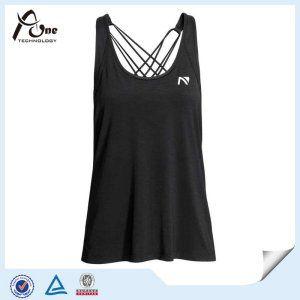8877baa0a7ec5a Lady Gym Wear Wholesale Custom Fitness Stringer Tank Top - China Girls Sexy  Singlet