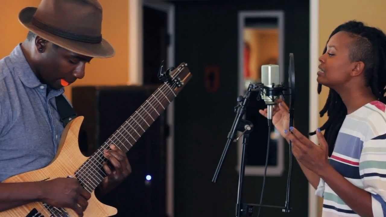 Tosin Abasi And Kelela Mizanekristos Tosin Abasi Music Electric Guitar