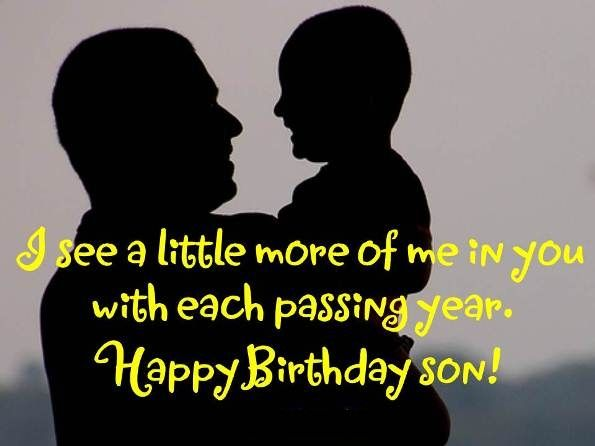 Birthday Quotes for Son from Dad | Quotes | Birthday wishes for