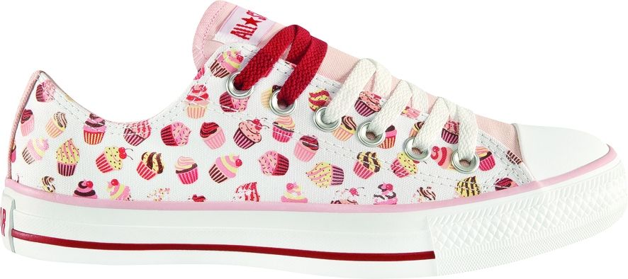 CT AS Print Cupcakes OX - Chuck Taylor - Converse All Star - Alucinado 47816d2e6