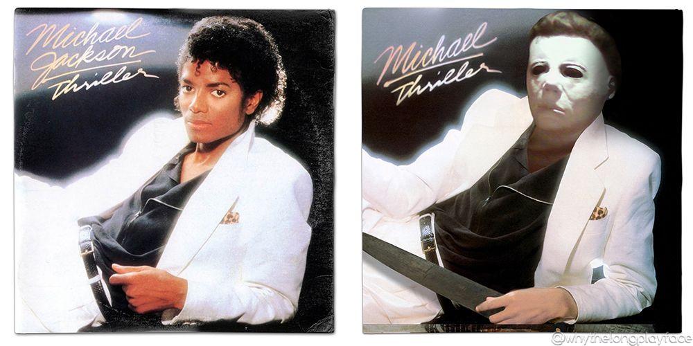 Michael Jackson Thriller / John Carpenter Halloween Michael Myers ...
