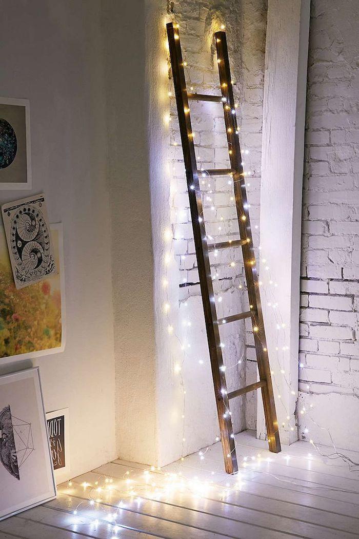 ▷ 1001 + Ideen für bezaubernde Fensterdeko zu Weihnachten #leiterdekoweihnachten