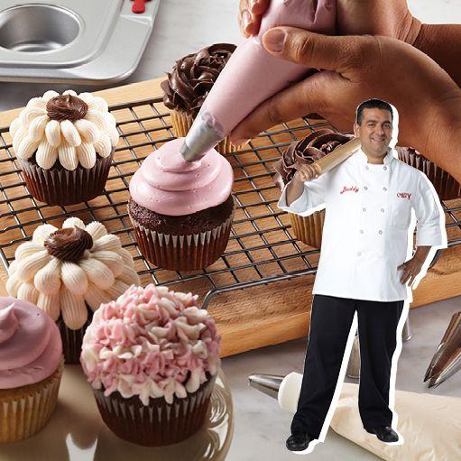 7 Secrets To Baking Like A Pro Cake Boss Recipes Cake Boss Cupcake Recipe Cake Boss Buddy