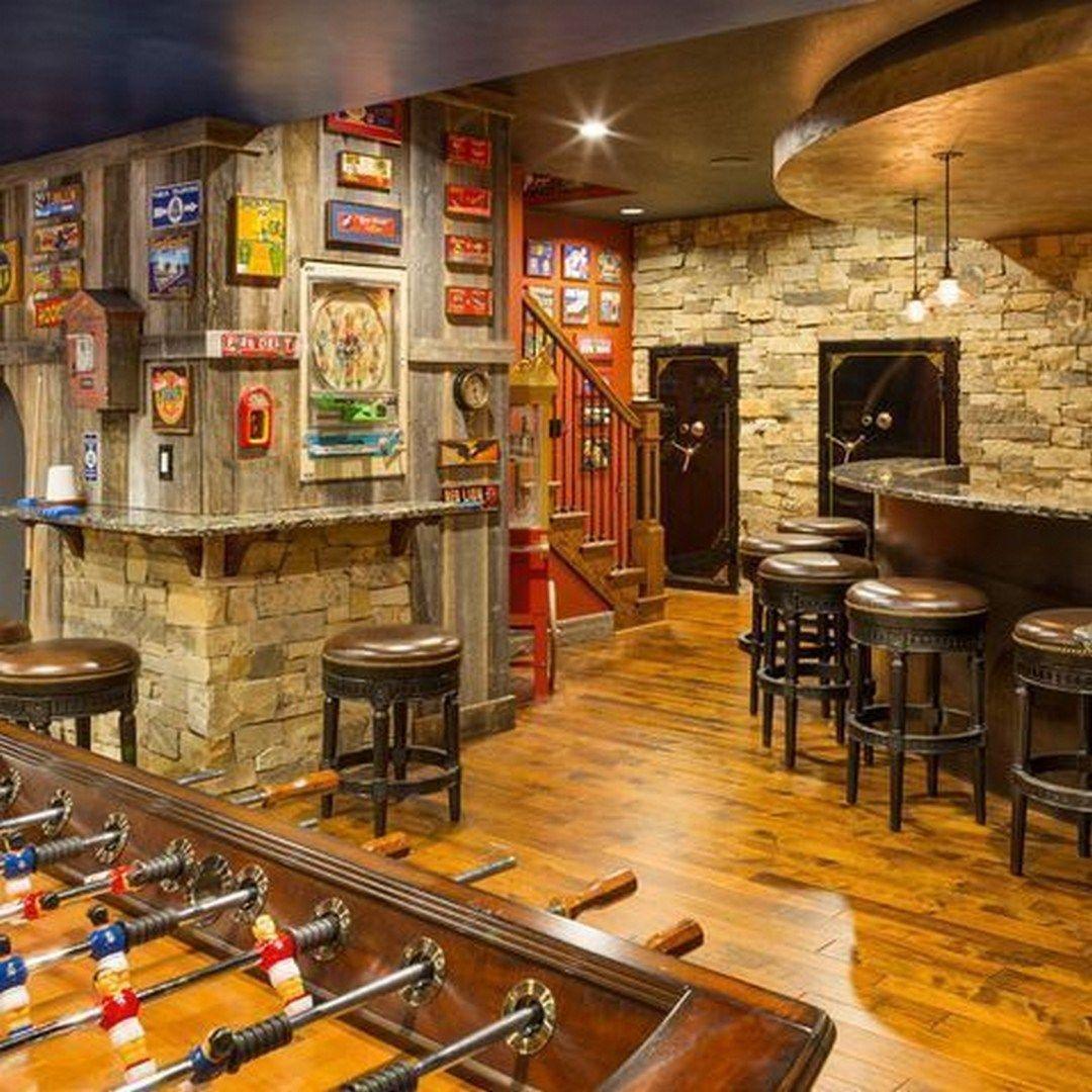 32 Incredible Basement Bar Design That'll Make Feel Good