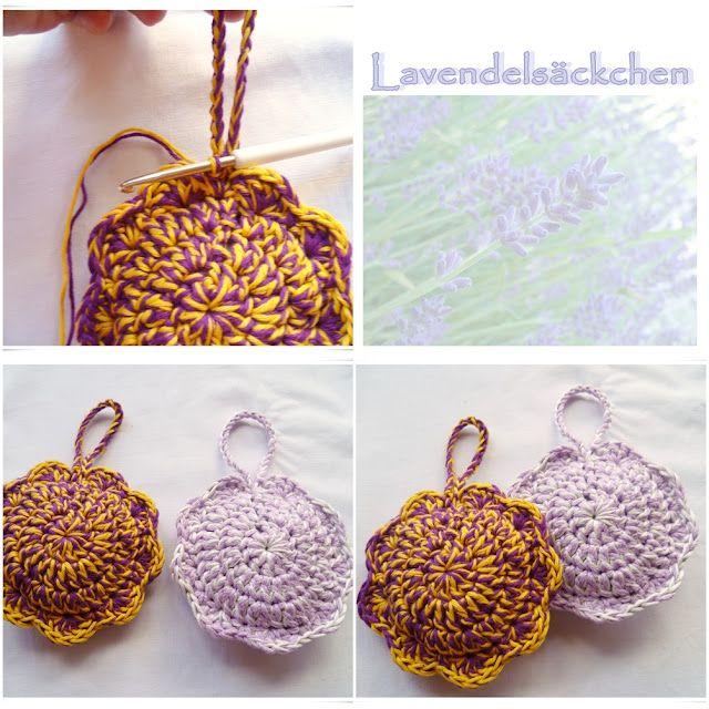 Strickliese Kreativ Tutorial Lavendelsäckchen In Form Einer