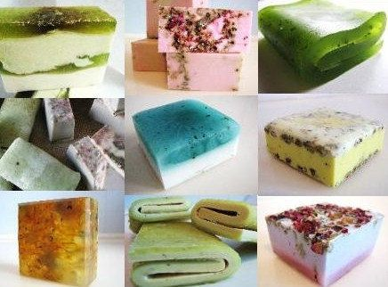 Beautiful handmade soaps on Etsy...