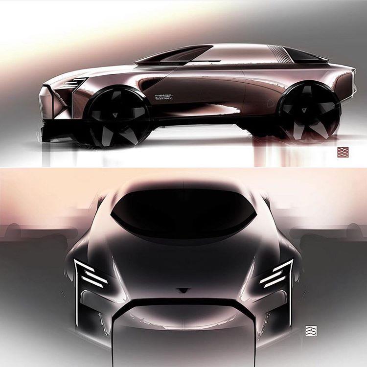 Car Design Daily в Instagram: «By Edouard Suzeau For requests follow @michaeltachejian • • • • • #cardesigndaily #cardesign #car #design #designer #cardesigner…»