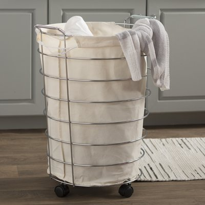 Basics Wayfair Basics Rolling Laundry Hamper Laundry Hamper