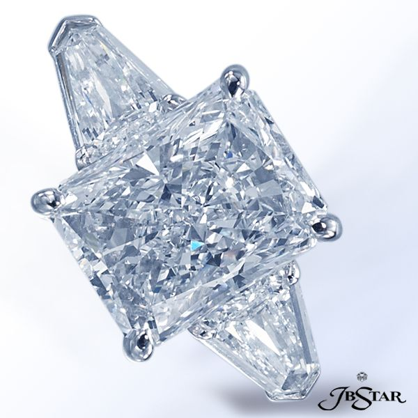 JB Star radiant diamond with shield diamonds.