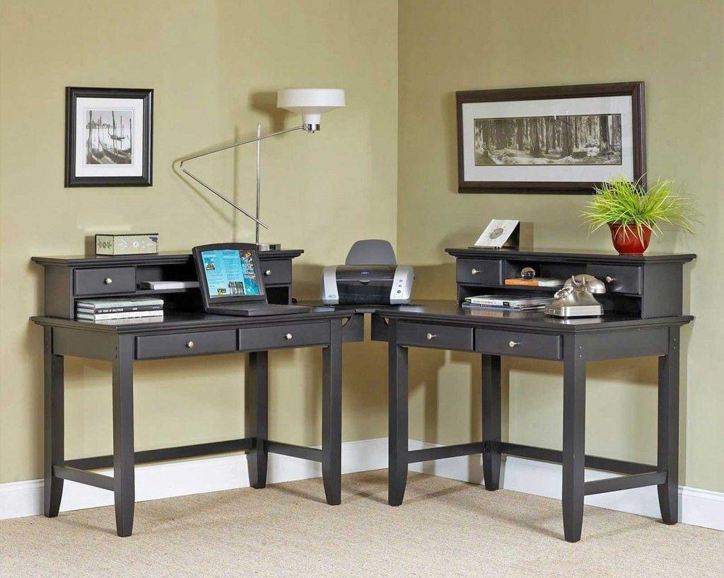 2 Person Corner Desk Home Organization Ideas