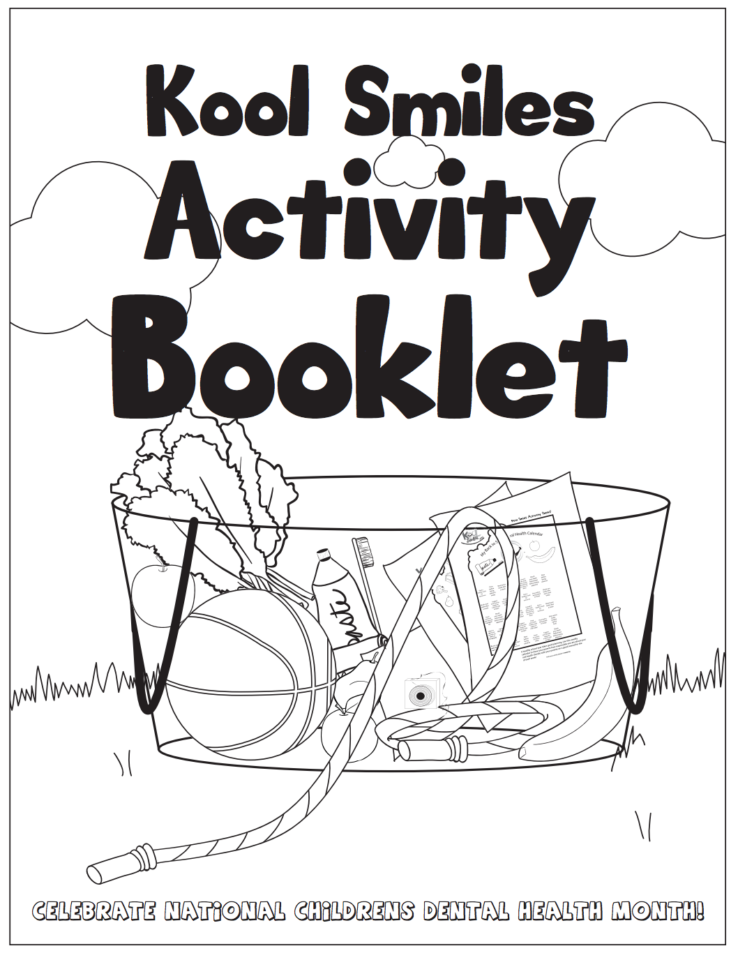Make learning about dental hygiene fun with our activity