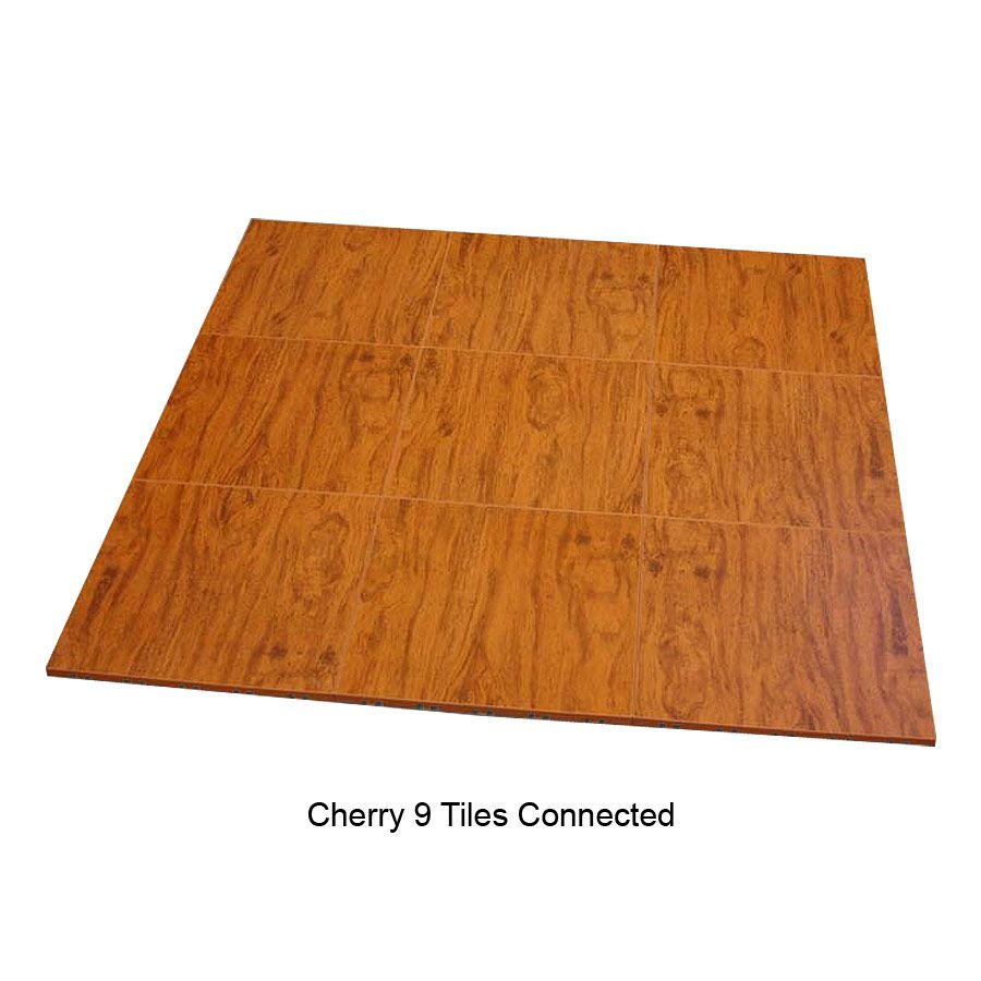 Modular Split Level Deck: Max Tile Raised Floor Tile