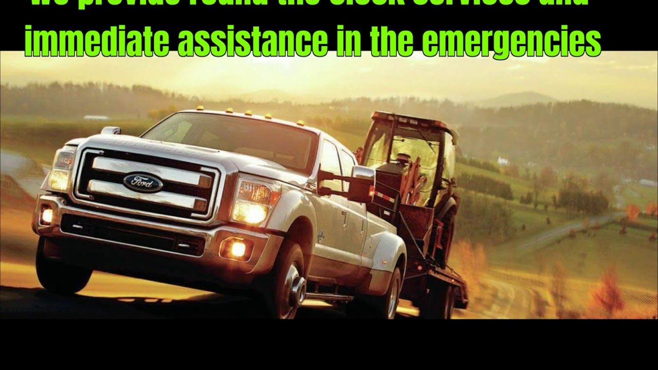 Need an emergency autotowing services on a busyroad