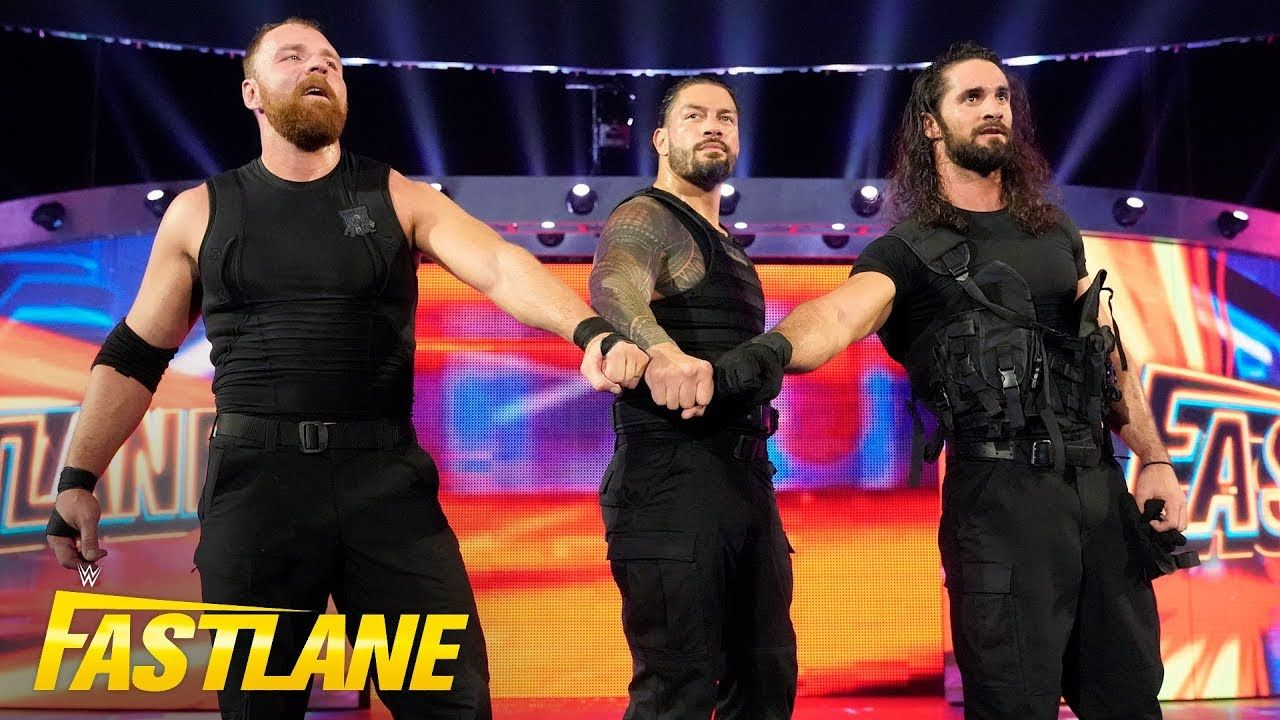The Shield emerge for battle one last time: WWE Fastlane 2019 (WWE Netwo...