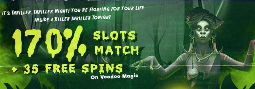 Bovegas Casino 170 Deposit Bonus Code 35 Free Spins On Voodoo
