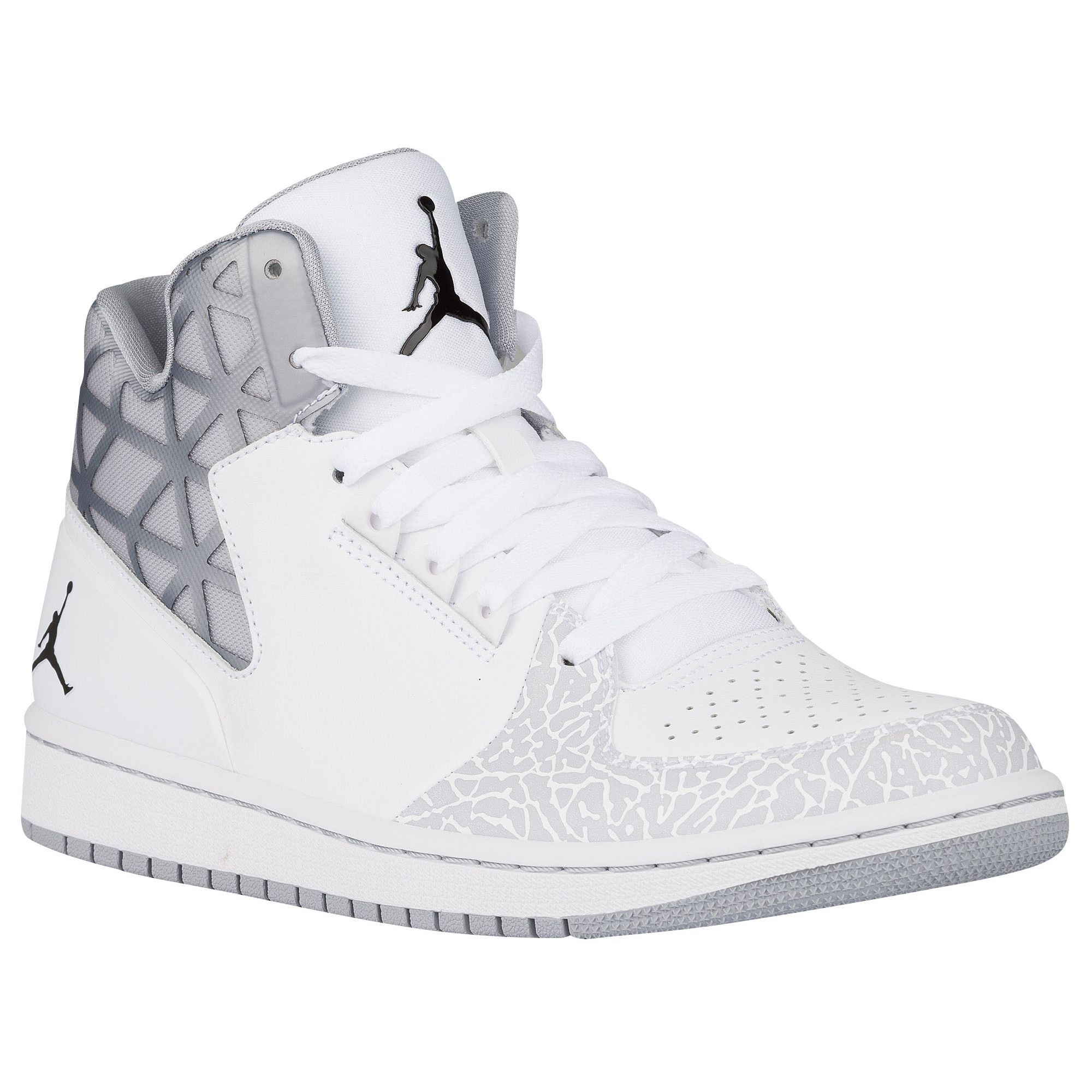 f1c12b3e7 Jordan 1 Flight 3 - Men's - Basketball - Shoes - White/Cool Grey ...