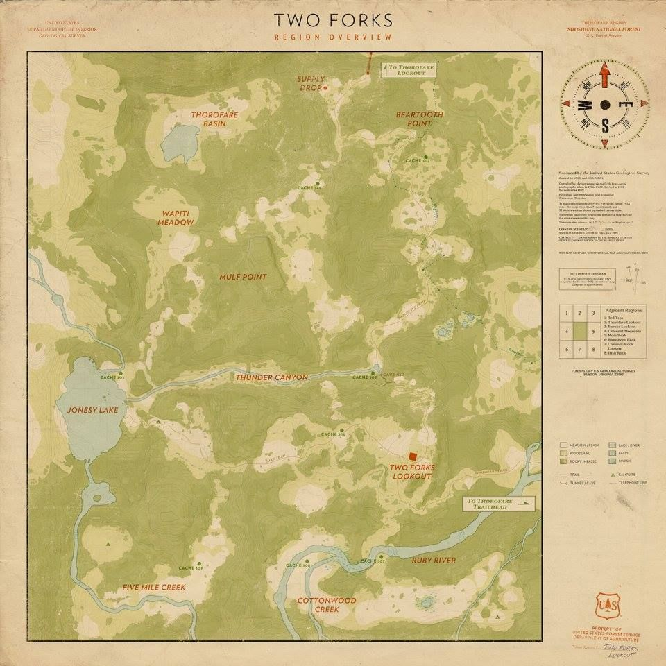 Map from game firewatch web seriesyou tubersgames pinterest map from game firewatch gumiabroncs Image collections