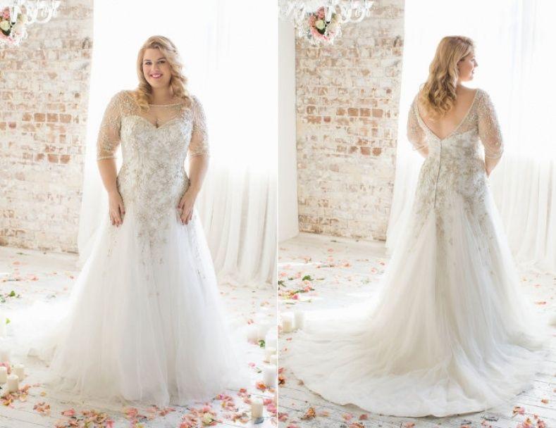 Wedding Dresses Plus Size Designer | Wedding Ideas | Pinterest ...