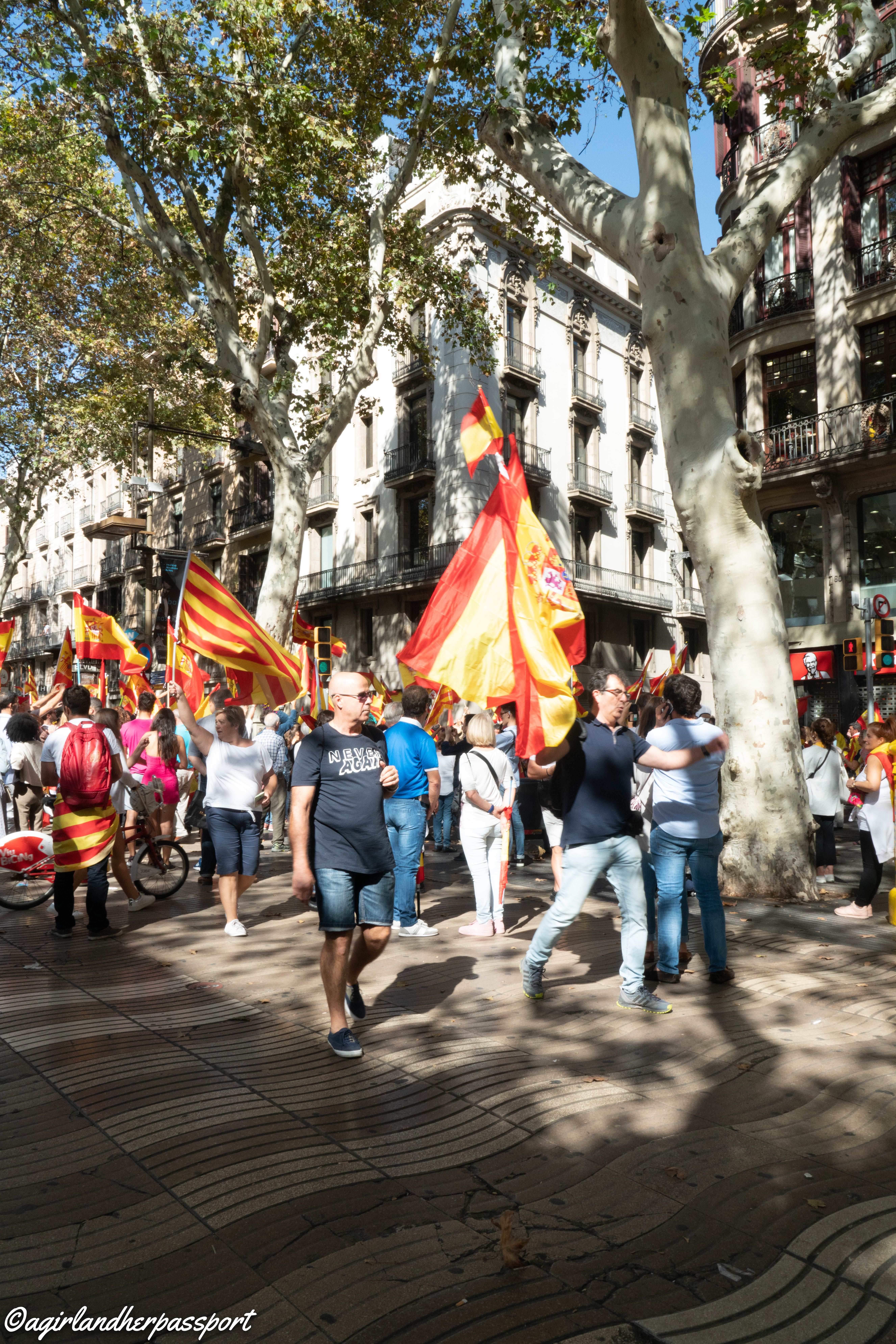 Witnessing History In Barcelona Barcelona History Traveling By Yourself