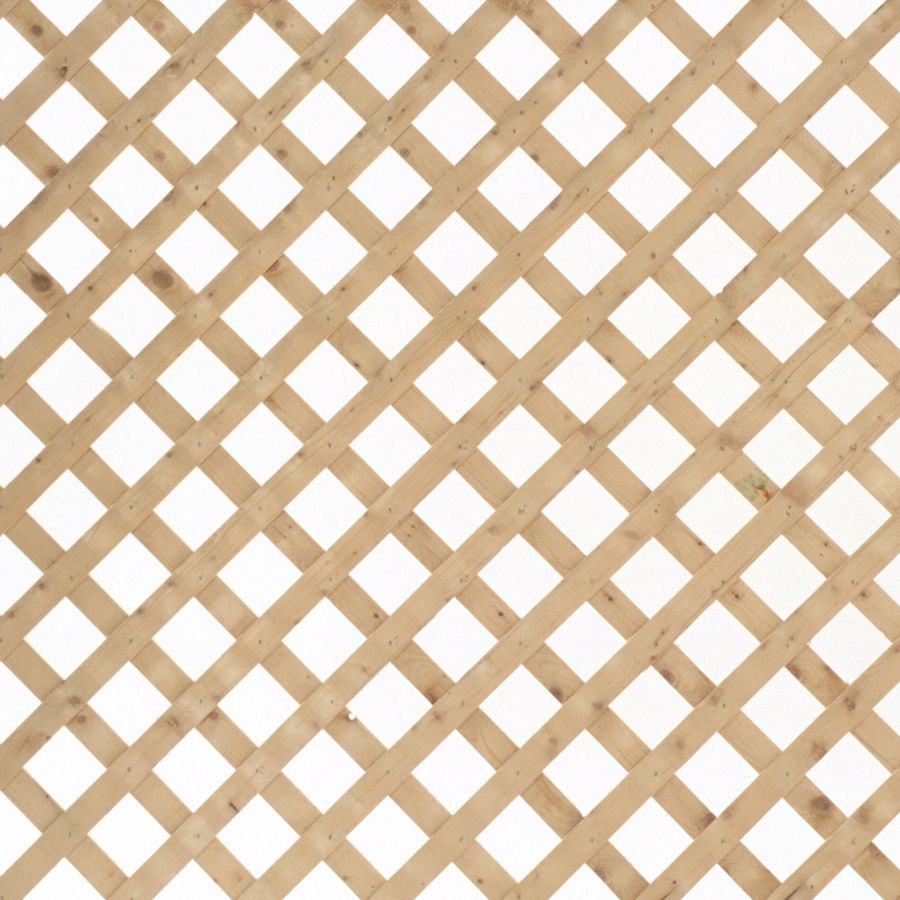 Shop Severe Weather Natural Pressure Treated Spruce Traditional Lattice Common 1 2 In X 96 In X 2 Ft Actual Lattice Decorative Screen Panels Lattice Fence