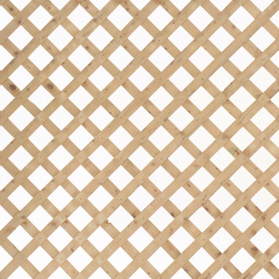 Shop Severe Weather Natural Pressure Treated Spruce Traditional Lattice Common 1 2 In X 96 In X 2 Ft Actual Lattice Decorative Screen Panels Lattice Fence