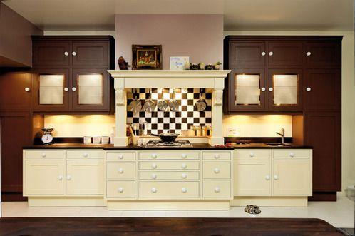 cuisine campagne tons bruns d coration style ann es 30. Black Bedroom Furniture Sets. Home Design Ideas