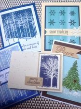 Quick And Easy Christmas Cards From Great American Stamp Store CT