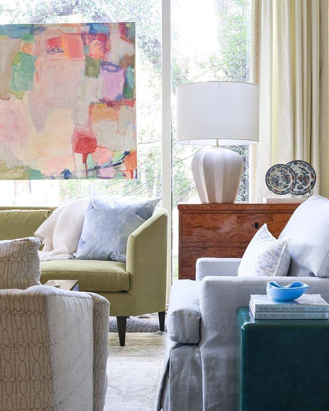living room design at blue print   chartreuse velvet sofa