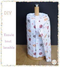 Essuie-tout lavable – Flo les mains – Blog DIY – Éducation positive – Zéro déchet – Diy couture