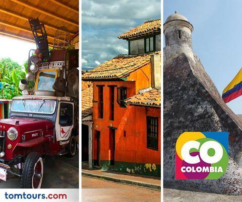 #Colombia Realismo Mágico! Descubra este majestuoso destino con nuestros paquetes completamente personalizados. Contamos con increíbles paquetes al Eje Cafetero, Santa Marta, Cartagena y muchos más! Para más información comuníquese al (212) 947-3131.#Paquetes #SomosLatinoamérica #TomTours