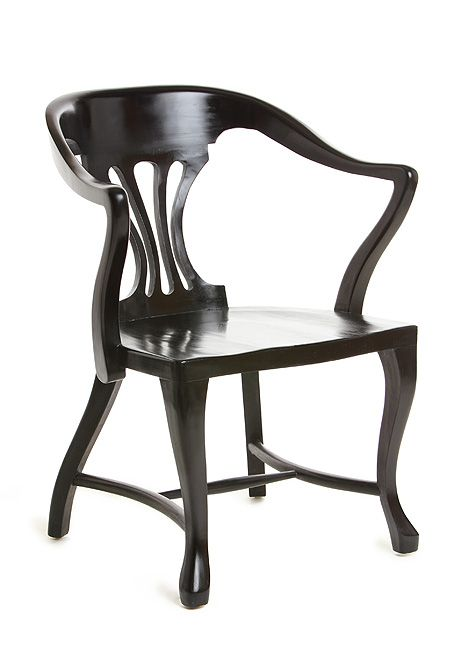 "Blackbird / ""Alain"" arm chair"